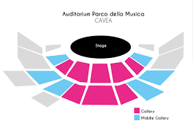 Auditorium Parco Della Musica Seating Chart Auditorium Parco Della Musica Rome Upcoming Classical Events