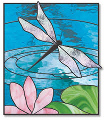 Stained Glass Pattern Amazing Free Stained Glass Patterns Garden Pond Dragonfly Pattern By
