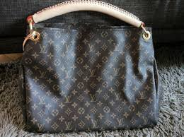 louis vuitton used bags. louis vuitton checkered bags saumur mm artsy authentic . used