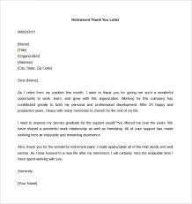 download retirement thank you letter template word format letter of retirement