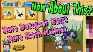 Designer Skirt Animal Jam How About This For Rim Rare Mech Helmet Designer Skirt