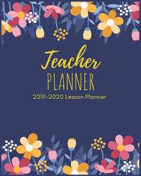 Teaching Floral Design Teacher Planner 2019 2020 Beautiful Floral Teacher Planner