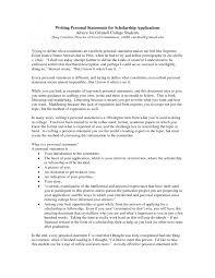 Sample Personal Statements Health Professions Program   Carnegie Mellon University