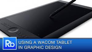 Tablet Designed For Seniors Using A Wacom Tablet As A Graphic Designer