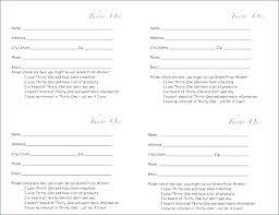 Raffle Entry Form Template Pdf Printable Tickets Simplistic