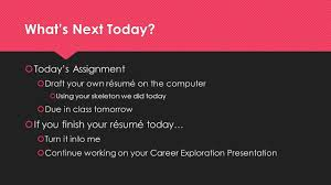 Resume Building Iafnr Careers Module This Is A Resume Ppt Download