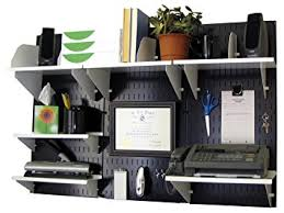 wall mounted office organizer system. Wall Control Office Organizer Unit Mounted Desk Storage And White Accessories 10OFC System O