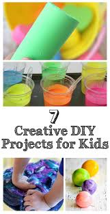 top 7 creative diy projects for kids