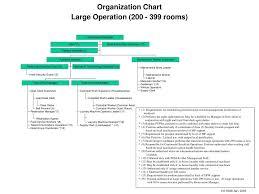 Operation Organization Chart Ppt Organization Chart Large Operation 200 399 Rooms