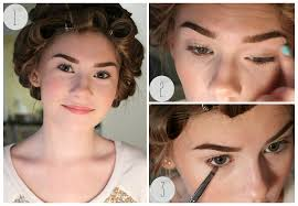 retro makeup tutorial