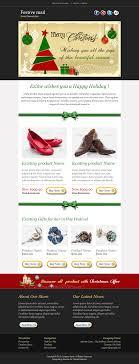 Holiday Newsletter Template Festive24 Christmas Newsletter Template By Bluenila ThemeForest 16