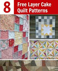 Quilt Patterns Using Layer Cakes