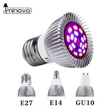 Us 1 48 Full Spectrum Cfl Led Grow Light Lampada E27 E14 Mr16 Gu10 110v 220v Indoor Plant Lamp Flowering Hydroponics System Ir Uv Garden In Growing