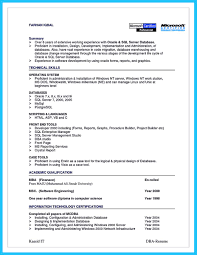 Database Designer Resume Awesome High Impact Database Administrator Resume To Get Noticed 13