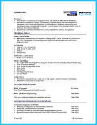 Database Designer Resume Awesome High Impact Database Administrator Resume To Get Noticed 13