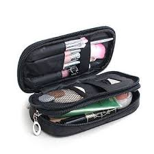 makeup brush travel case. small cosmetic bags makeup bag women travel toiletry professional storage brush organizer necessaries make up case beauty