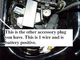 dyna power tie in for radio harley davidson forums Harley Tri Glide Plug Accessory dyna power tie in for radio p3160097 11 jpg