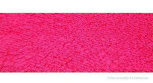 large red plush rug area bathroom rugs super soft anti skid thicken carpet round floor mat