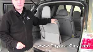 2012 | Toyota | Highlander | Third Row Seat Operation | How To By ...