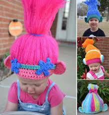 Trolls Crochet Hat Pattern Stunning Crochet Trolls Hat Ideas The Most Cutest Collection Ever