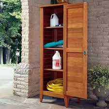 Outdoor Storage Cabinets With Doors Home Styles 1575 In X 24 In X 645 In Montego Bay One Door