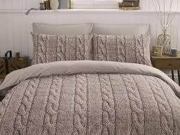 cable knit bedding set qu on queen home with regard to designs 1