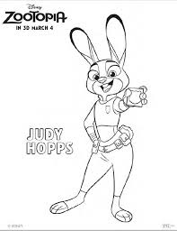 Zootopia judy hopps coloring coloring pages and printable activity sheets on pg printables