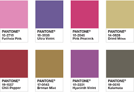 Pantone Colour Chart Pink Pantone Color Of The Year 2018 Tools For Designers I Ultra