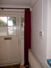 front door curtains. Fascinating Insulated Front Door Curtain Ideas - House . Curtains