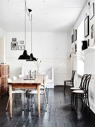 Scandinavian design mingles withe industrial style