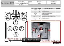 mirrors wiring up pf pt using stock parts ford truck here is the wiring diagram used c3276