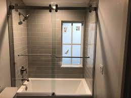 bathtub shower doors by liberty glass