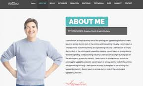 29 Best Html Resume Templates For Awesome Personal Sites Best Resume