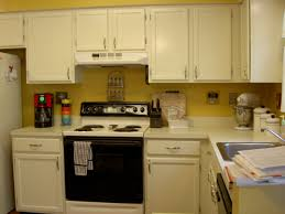 painted kitchen cabinets with black appliances. Exellent With Image Of Off White Kitchen Cabinets With Black Appliances To Painted A