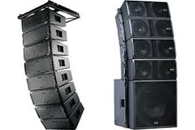 stage speakers setup. line array speakers stage setup r