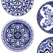 Blue And White China Pattern Gorgeous Blue White China Plates 48 Inch Plate Wallpaper