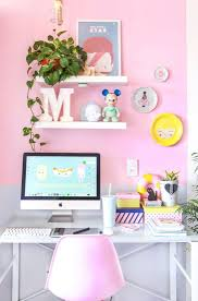 home office color. Most Romantic Pink Home Offices Color Scheme Ideas 028 Office