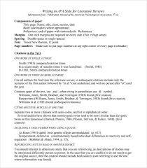 Lit Review Lit Review Example Apa Under Fontanacountryinn Com