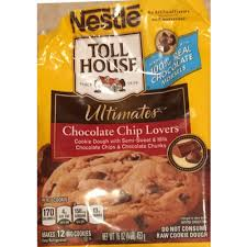 toll houseraw cookie dough chocolate chip toll house