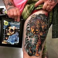 Lloyd Woodrome Monarch Tattoo
