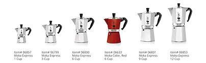 Bialetti 6801 Moka Stovertop Coffee Maker 9 Cup Aluminum