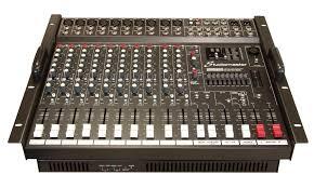 studio master sound system. powerhouse 1000x powered mixer series studio master sound system