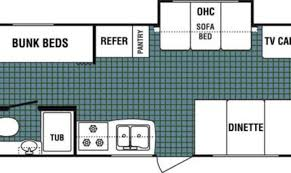 Plan 1142  2 Bedroom BiLevel Home With Open Living Space Expandable Floor Plans