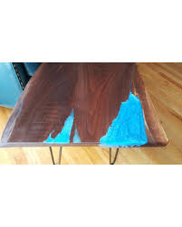 Live edge wood coffee table Vintage Live Edge Wood Coffee Table Resin River Black Walnut Live Edge Wood And Better Homes And Gardens Hot Sale Live Edge Wood Coffee Table Resin River Black Walnut