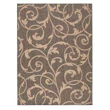 scroll hampton bay rugs outdoor patio n