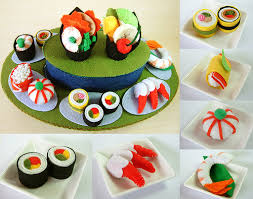 Felt Food Patterns Impressive Felt Food Rotating Sushi Set Pattern Felt Food Scallop Sas Flickr