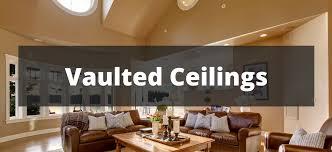 Vaulted ceiling design ideas.