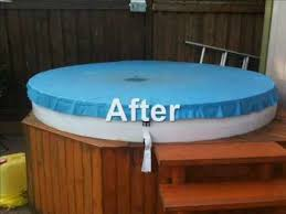 homemade hot tub cover for under 100