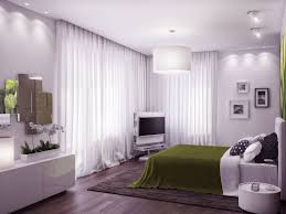 Bedrooms  Cool Green And White Bedroom Designs Net Light With - Cool bedroom decorations