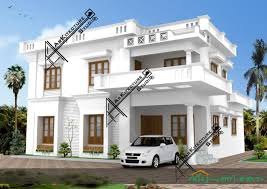 house plan kerala style       Kerala House Designs and     square feet contemporary style house   bedrooms